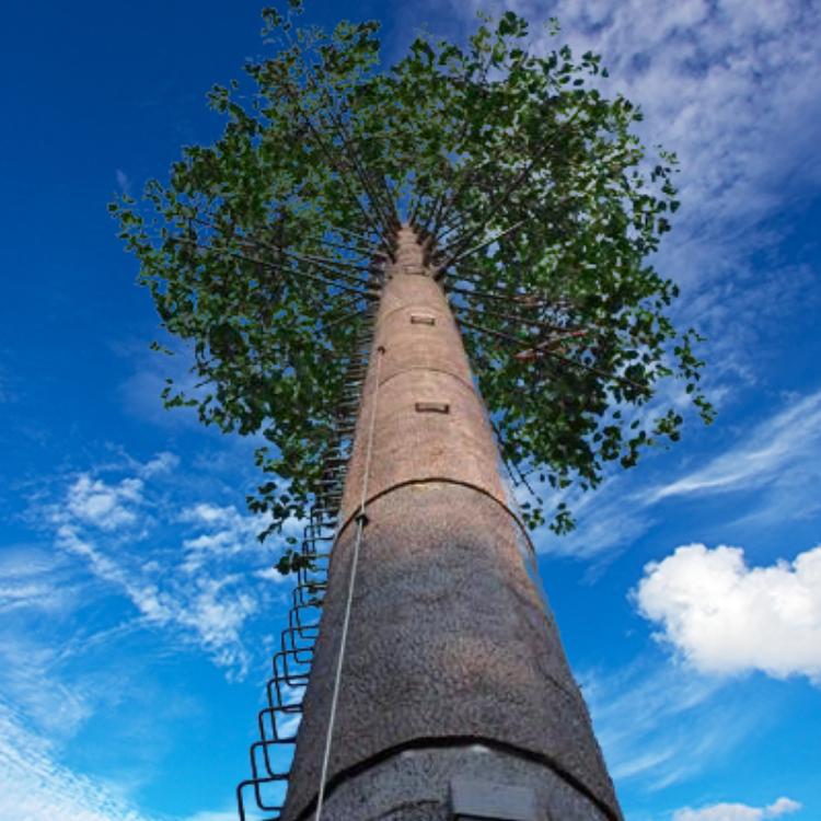 仿生树烟囱