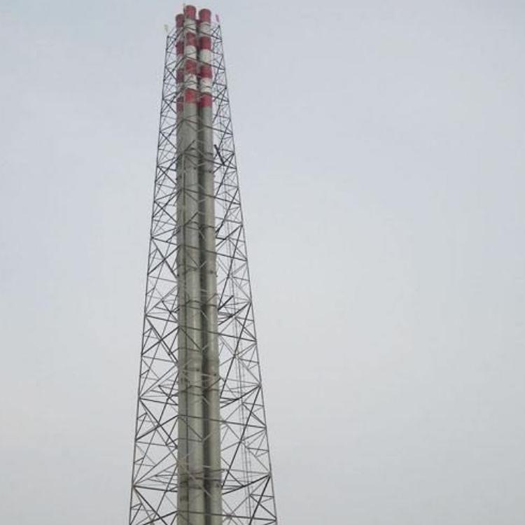 塔架式钛钢复合板烟囱