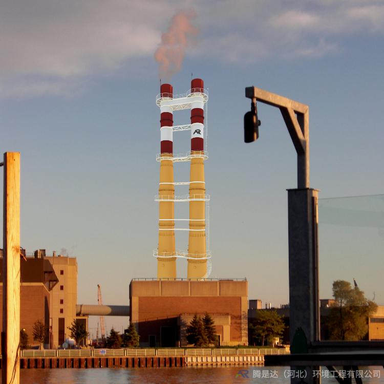 热电厂烟囱