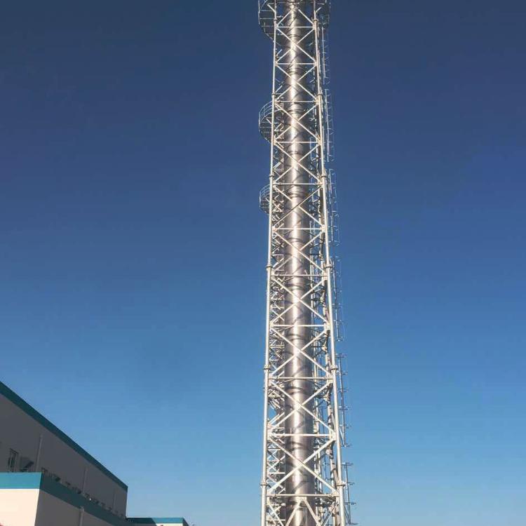 塔架式碳钢烟囱