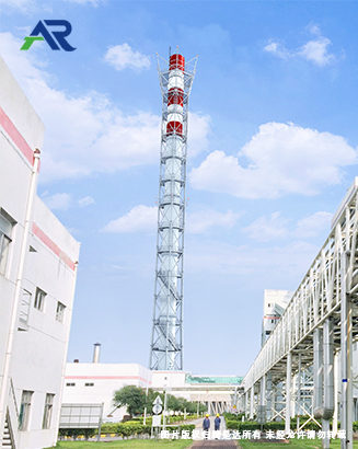 塔架式烟囱图片