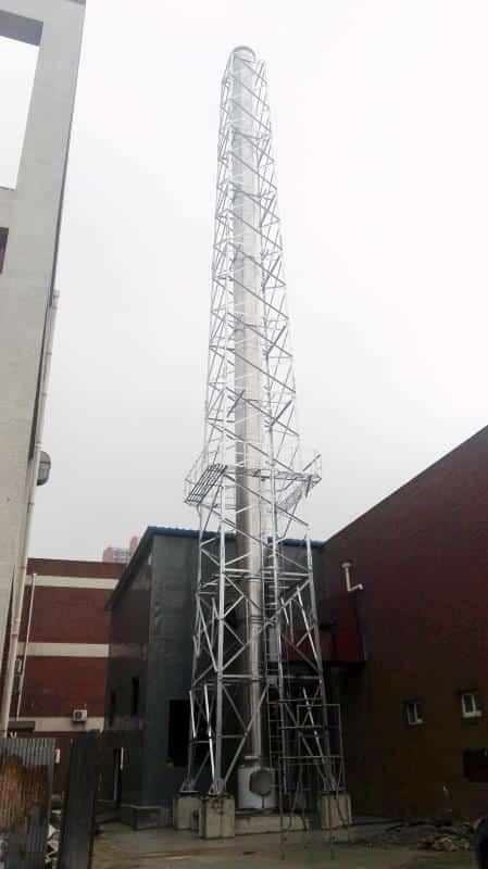 供暖塔架烟囱