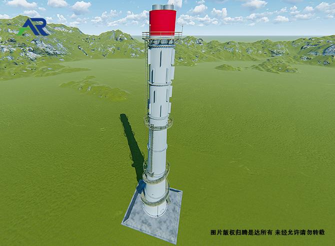 自立式钢管烟囱
