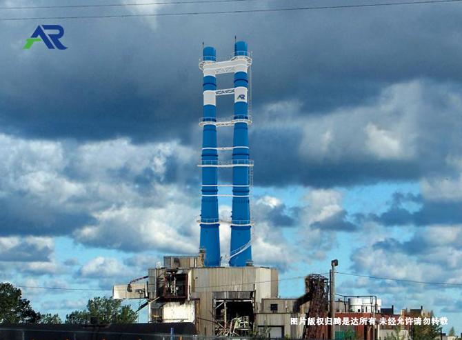 集束式钢制烟囱
