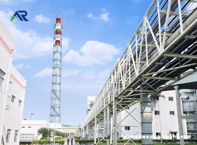 120米钢制烟囱