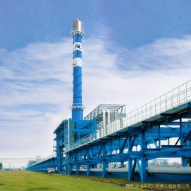 塔架式波纹管烟囱