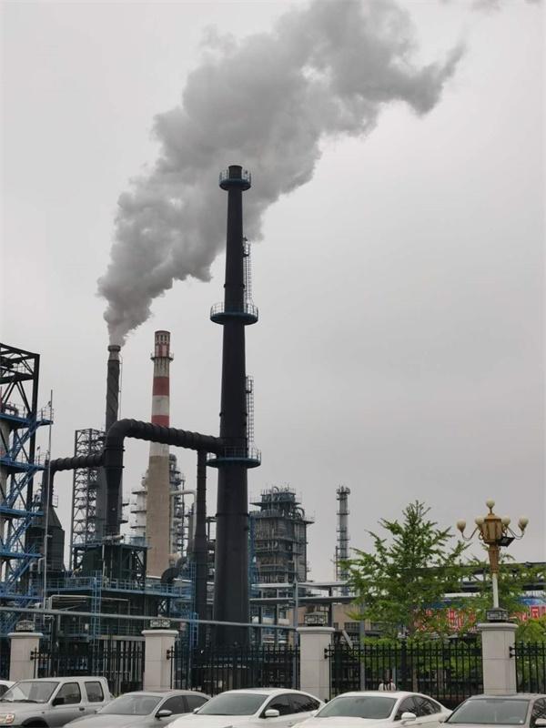 广西煤电厂烟囱施工案例图集