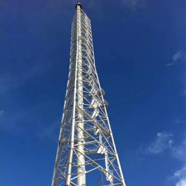 塔架式钢烟囱