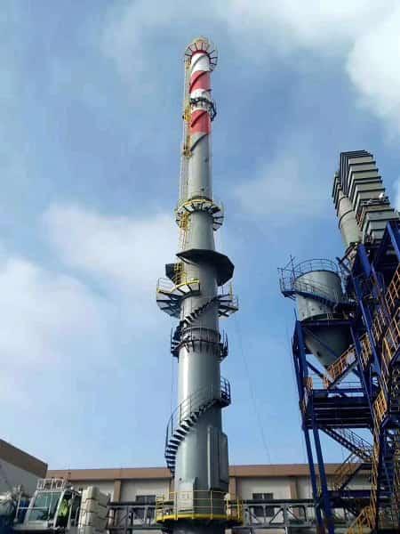 塔架式烟囱设计规范